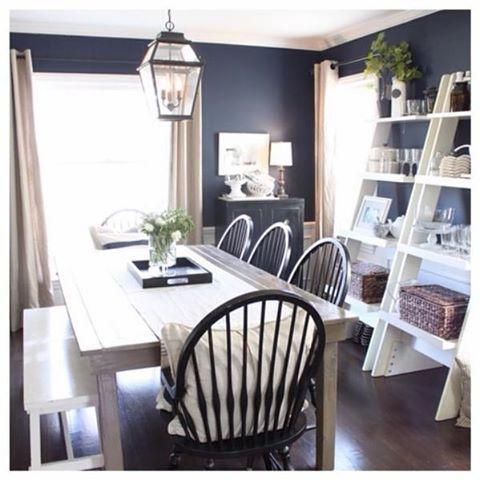Feel Inspired With These Captivating Naval SW 6244 Walls Color PaintsPaint ColorsKitchen DiningDining RoomsKitchen IdeasThanks For