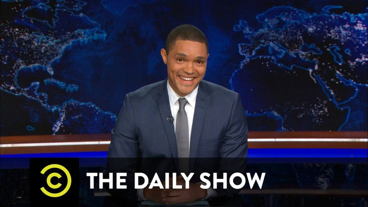 """The Daily Show - Trevor Noah Continues the War on Bulls**t - on the Pope """"...he's like a young Bernie Sanders.""""  ROFL!"""