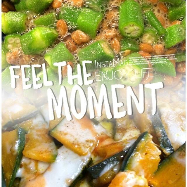 美味しい瞬間  今日は日本酒で オクラと納豆のたまごかけ用醤油 かぼちゃのカレー風味グラタン タバスコかけて美味!  Dinnerは 豚肉の生姜焼きのポーチドエッグ 食べ方は2通り 普通に食べた後に ご飯に生姜焼きと卵をのせて まろやか丼(⋆′◡ु͐‵⋆)  おご馳走様〜〜〜♪ - 40件のもぐもぐ - オクラ納豆のたまごかけ用醤油   かぼちゃのカレー風味グラタン by yueternityl94