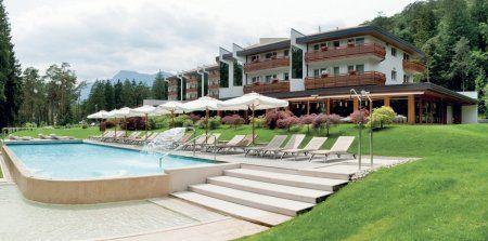 Italien Trentino **** Grand Hotel Terme di Comano Pool