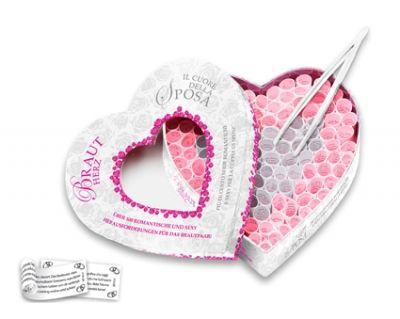 tease & please   Brautherz  Über 100 romantische und erotische Herausforderungen für das Brautpaar!   Egal, ob für die Hochzeitsnacht, für die silberne Hochzeit oder einfach so: Dieses Brautherz ist das ideale Geschenk für jedes Brautpaar. Garantiert ein Erfolg: Tränen der Rührung, ein herzliches Lachen, eine romantische Ode oder ein wildes Liebesspiel - ihr könnt bei diesem Spiel alles erwarten.