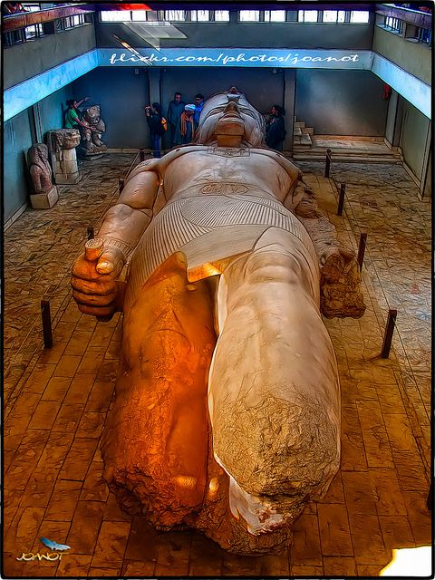 Statue of Ramesses II, Memphis, Egypt