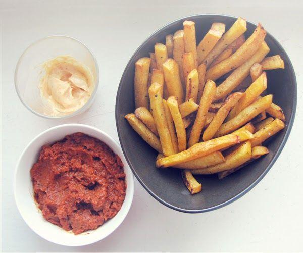 Syötävän hyvä: VÄHÄN PAREMMAT RANSKIKSET & DIY KETSUPPI