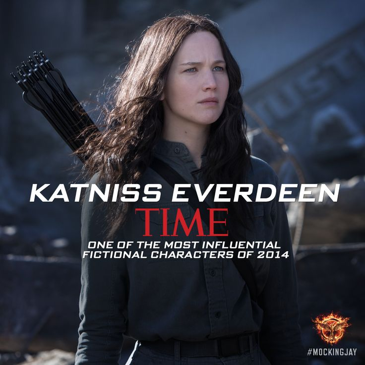 The courage of one has changed the world! TIME salutes Katniss Everdeen as one of the Most Influential Fictional Characters of 2014. http://hungrgam.es/time2014