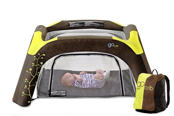 This thing is awesome! No hard edges for bumps and fun for tots, making them more likely to willingly sleep in it.