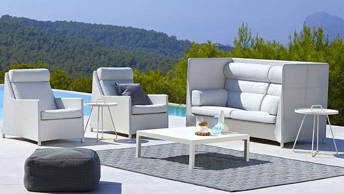 Diamond collection from Cane-line. #Caneline #outdoorfurniture #dawsonandco