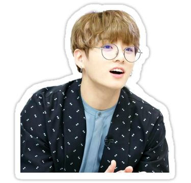 BB Jungkook que llevaba gafas • Also buy this artwork on stickers y home decor.