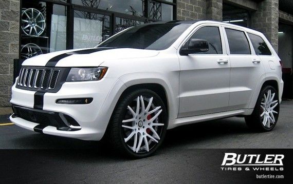 The Official Forgiato Wheels Blog » 2012 SRT8 Jeep w/ 24″ Maglia-ECL Wheels!
