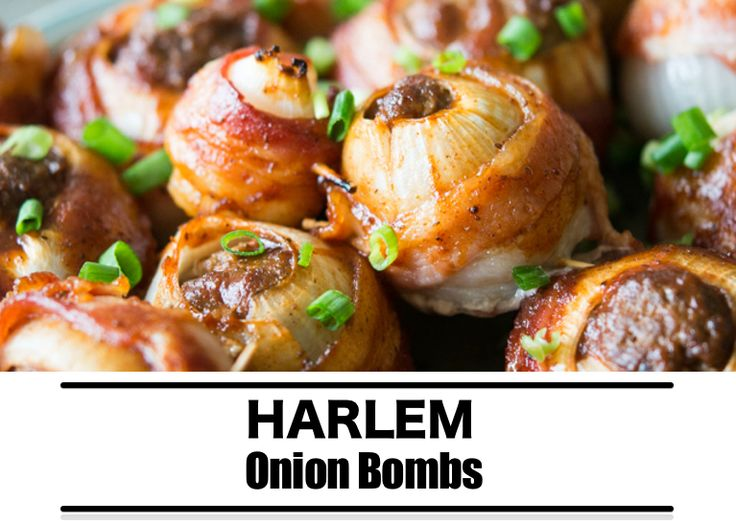 Barbecue recept: Onion bombs