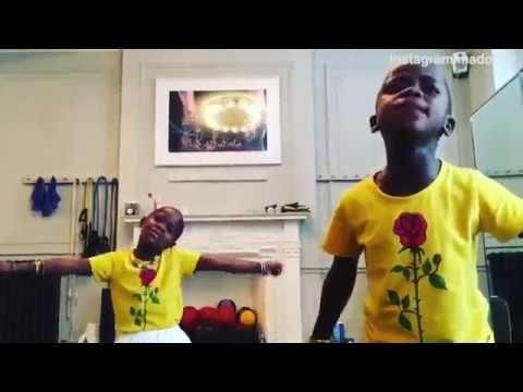 Watch-Madonna's kids sing and dance to Shakira's Waka Waka smash hit