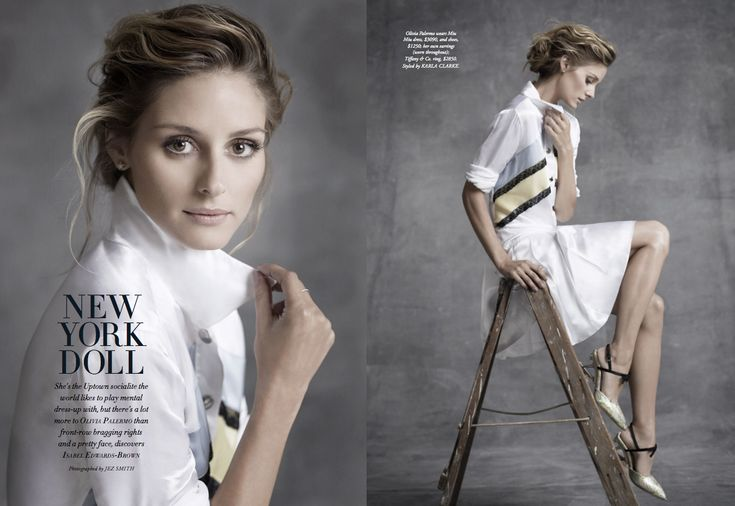 Take a look at this beautiful of Olivia Palermo spread for Harper's Bazaar Australia.