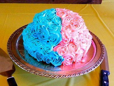 Baby Gender Reveal Cake Ideas