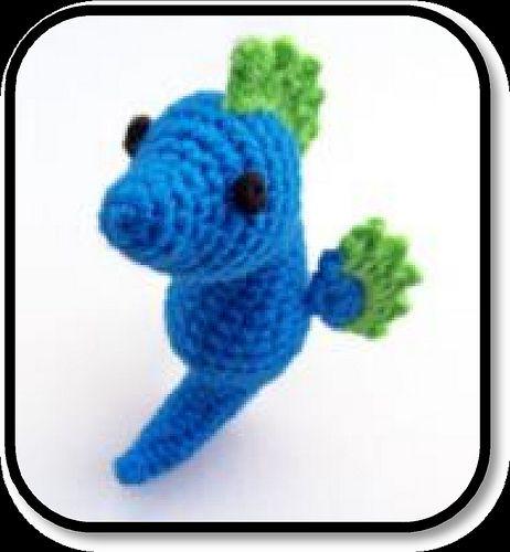 Amigurumi Seahorse Free Pattern : Absolutely adorable seahorse amigurumi that Im going to ...