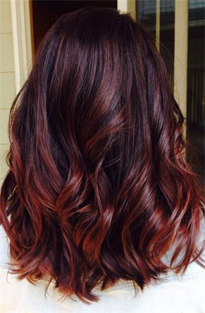 Snygg hårfärg