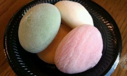 Mochi Ice Cream from Bubbies in Honolulu, Hawaii