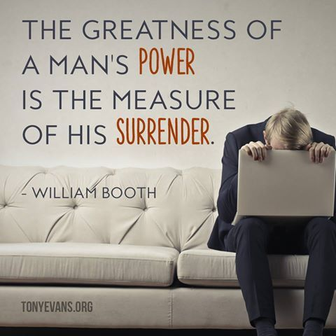 Surrender to God today!