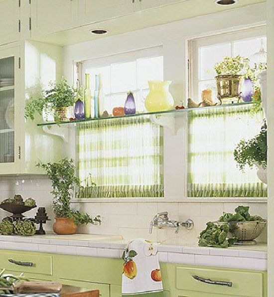 Kitchen curtains google bing images - Small kitchen curtains ...