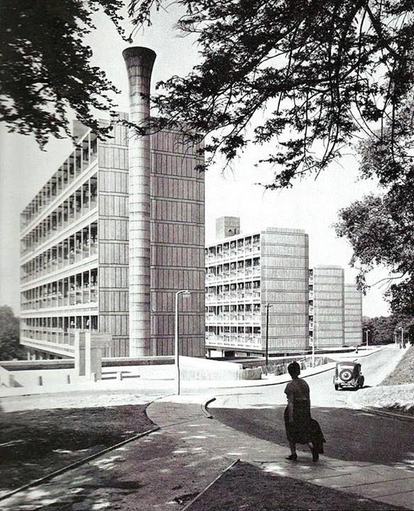 Alton West Estate, Roehampton, London (1959) London County Council Architects