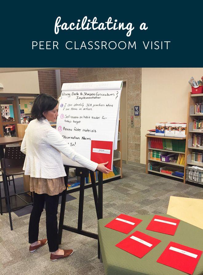 Unique tips on facilitating a peer classroom visit!