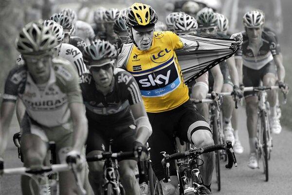 Tour 2013 chris froom maillot jaune