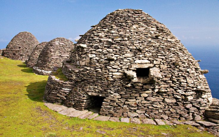 Skellig Michael, Ireland, home to one of the earliest monastic settlements in Ireland. The earliest reference in history to the Skellig Islands dates back to 1400 BC.