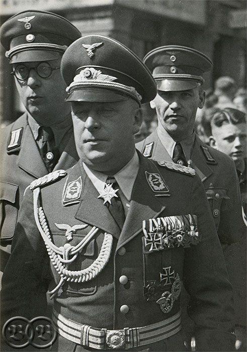 FELDMARSCHALL ERNST BUSCH   NAZI JERMAN: Daftar Para Peraih Pour le Mérite (Penghargaan Militer ...