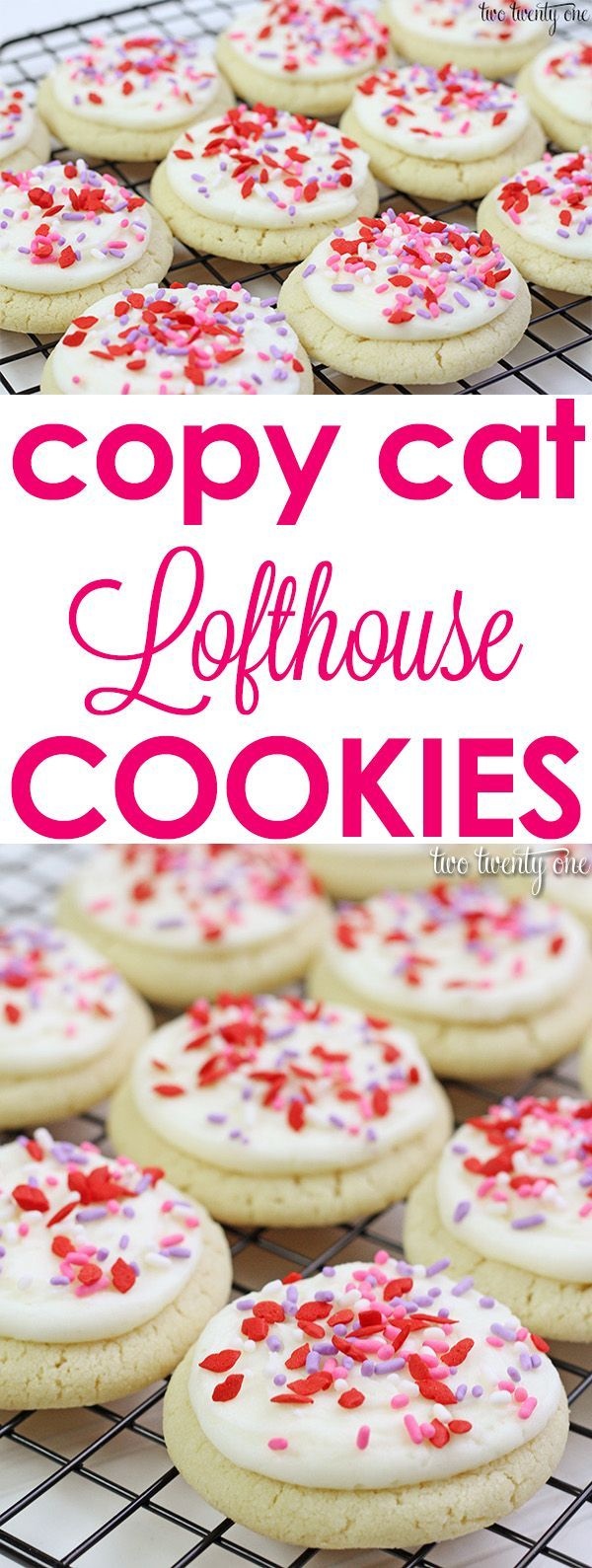Copy cat Lofthouse cookie recipe! The softest, pillowy sugar cookies!