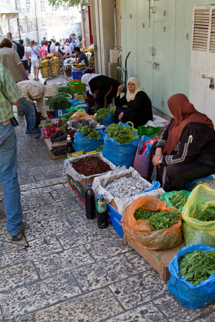 Market Day is every day, except for the Sabath or Sunday, depending if you are Jewish or Christian!  (Jerusalem, Israel)