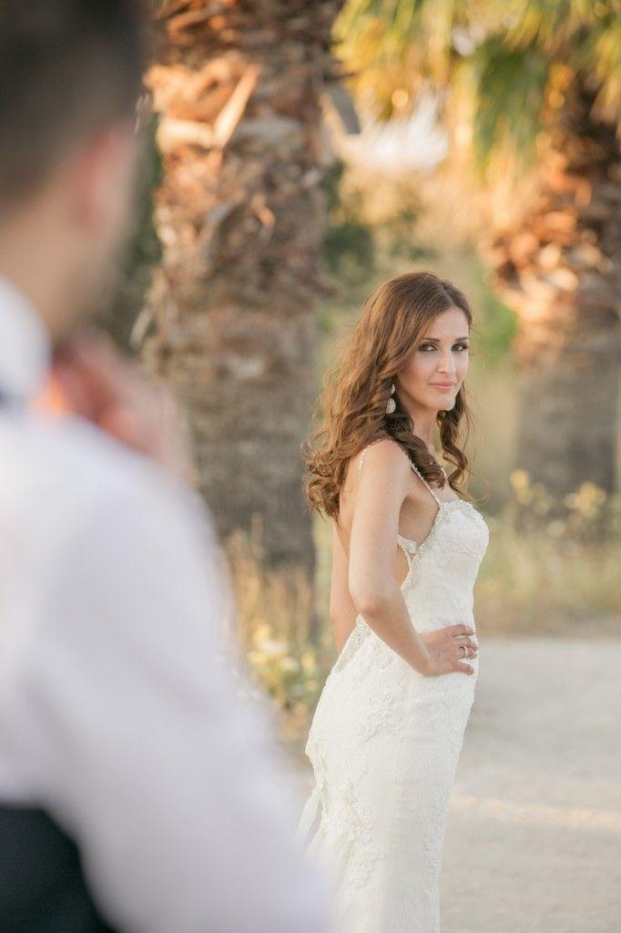#DestinationWedding in #Faliraki #Rhodes #bridal dress #Pronovias #Locationphotoshoot