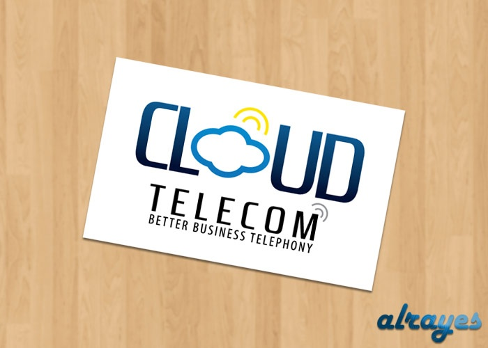 Cloud Telecom Logo Design By Alrayes http://goo.gl/SePl9