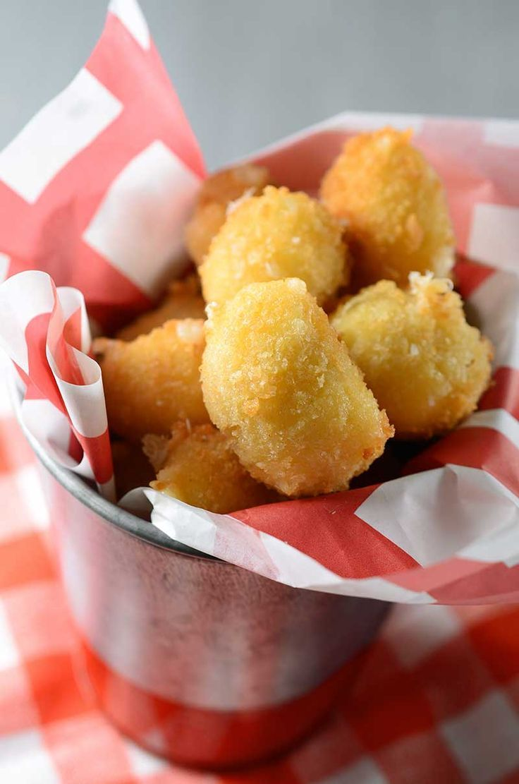 Panko Crusted Fried Cheese Curds