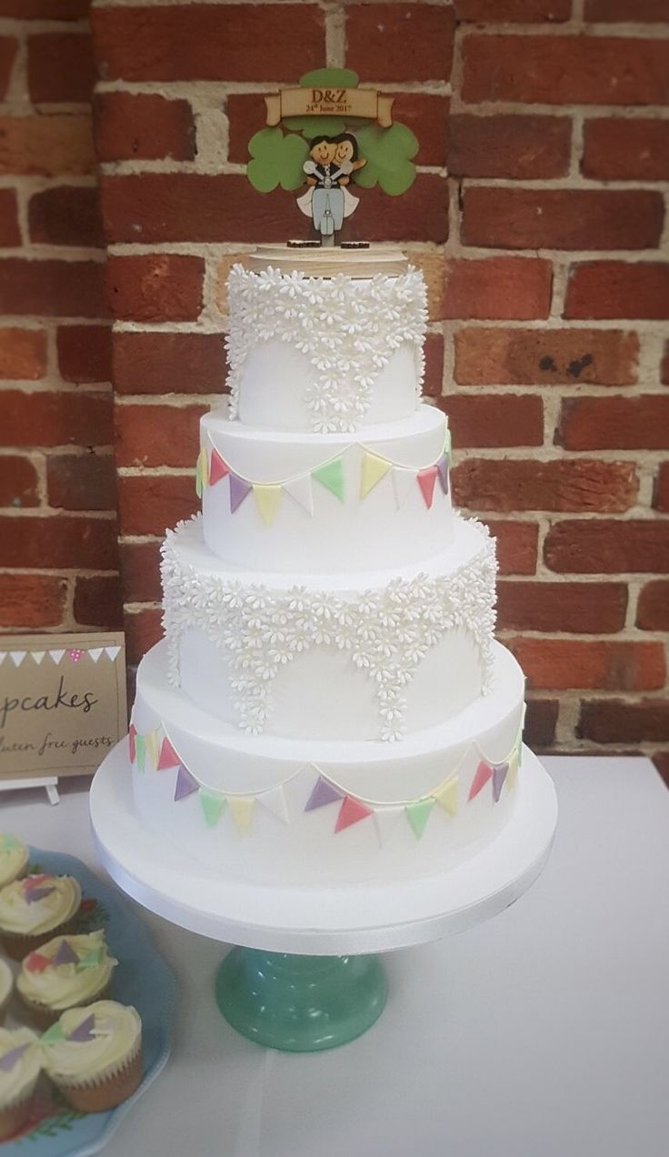 22 best Our Wedding Cakes images on Pinterest   Cake wedding, Belle ...
