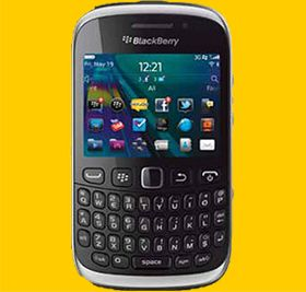 Blackberry 9320 on MTN PayAsYouGo Includes FREE Starter Pack  * BlackBerry 7.1 OS * 3G connectivity * 3.2MP camera with flash * Built-in FM radio * Dedicated BBM button * Personal Wi-Fi hotspot capability * GPS-enabled