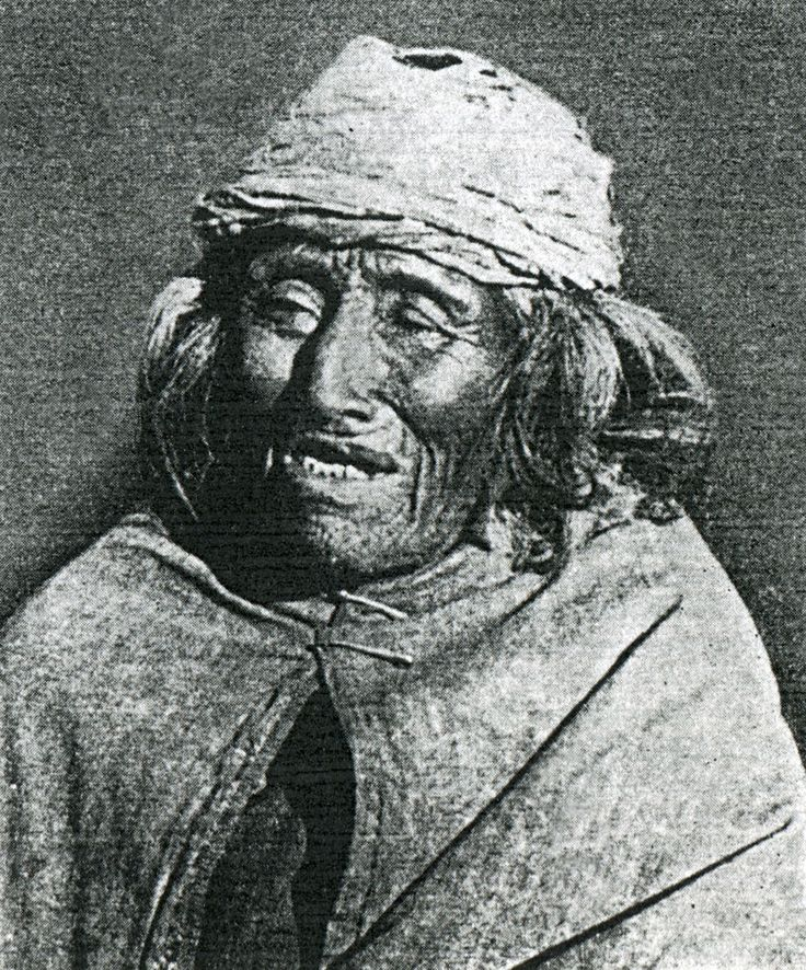 Anciana Tehuelche