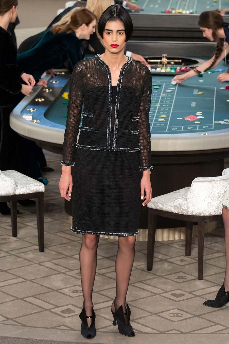 Chanel Fall 2015 Couture Fashion Show - Mica Arganaraz