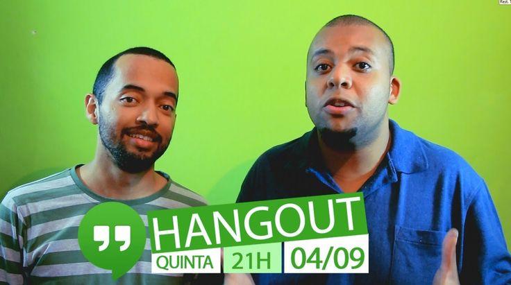 Convite Hangout #AG #2anos