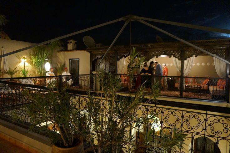 Terrasse at night