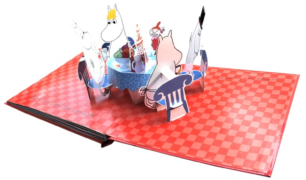moomin pop up book