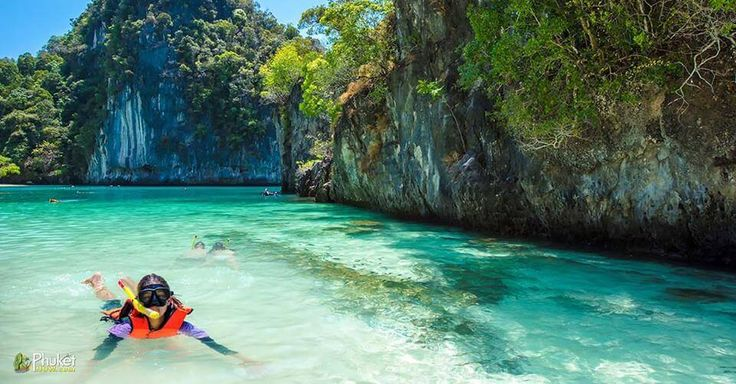 There are many amazing spots to swim and snorkel on Phi Phi such as Monkey Bay, Maya Bay, Loh Samma, Koh Bida Nok, Long Beach and Pi Leh. While underwater, you will discover abundant coral reefs and wonderful marine-life.  PhuketNow.com has arranged a day tour to Phi Phi Island by a high speed catamaran which includes ample snorkelling opportunities.  If you snorkel in Phi Phi it will be like being on a fantasy planet.  Go here to send us inquiry - http://phuketnow.com/PhiPhiour