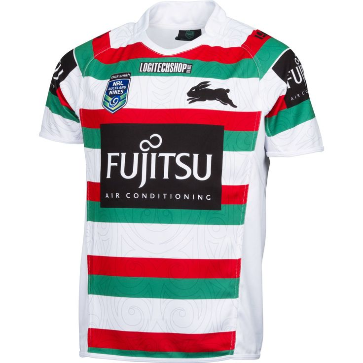 South Sydney Rabbitohs 2015 Men's Auckland 9's Jersey - NRL Megastore $160