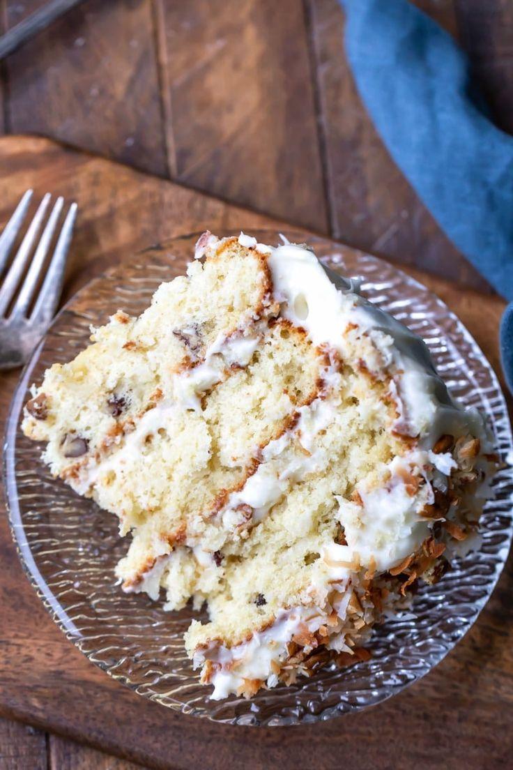 Italian Cream Cake Recipe Cake Recipes Authentic
