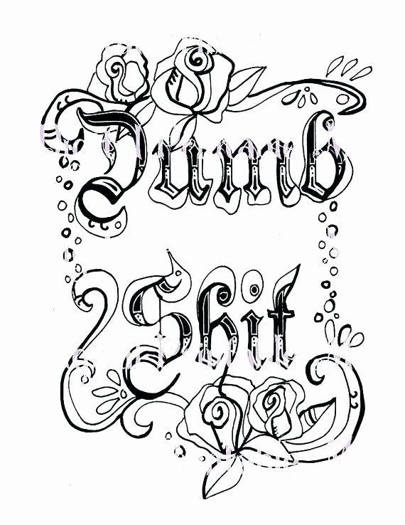 Swear Word Coloring Pages Printable Unique Curse Word Coloring Pages Free Printable At Ge Swear Word Coloring Book Words Coloring Book Cuss Words Coloring Book