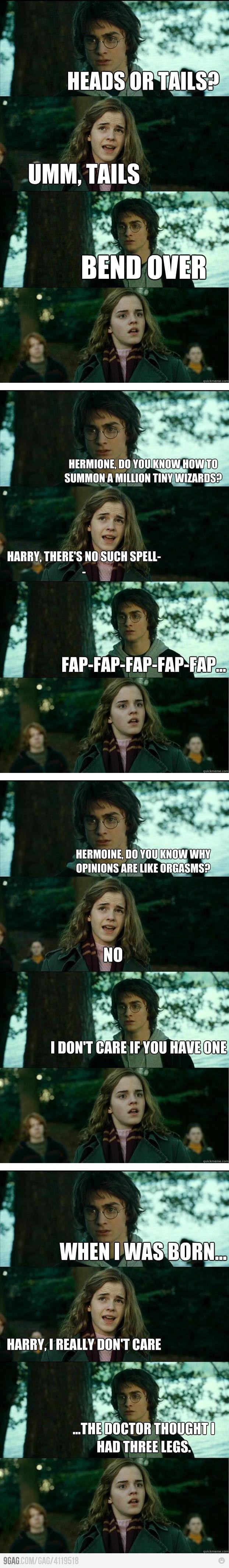 oh harry...: Potter Pick, Funny Random, Funny Boards, Hahahah Funny, Dirty Harry, Funny Stuff, Harry Potter, So Funny, Horni Harry