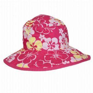 Girls Reversible UV Sun Hat (Blossom)