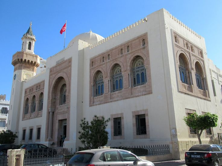 The Muséé de Sfax in Sfax, Tunisia, houses a major achaeological collection in a former municipal building.
