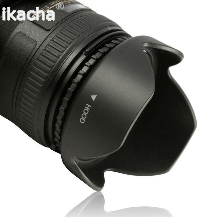 55MM Reversible Petal Flower Lens Hood for Sony Alpha A55 A65 A77 A57 A37 A99 A6300 a6000 a5100 a5000 HX300 HX400 H400 A230 A350