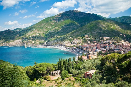 Levanto, Italy. Regarded as the sixth town of Cinque Terre. Stayed here before exploring the other five towns.