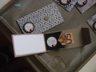 Huhu Ihr Lieben,   gestern habe ich mir eine kleine Verpackung einfallen lassen, um Geld zu verschenken....   Die Klappe der Karte ist dabei...