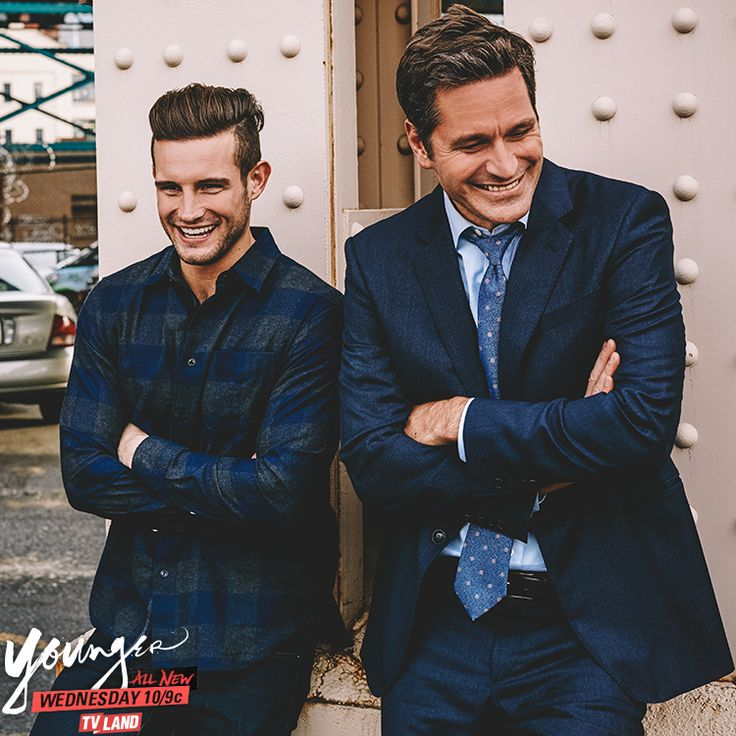Who's your Man Crush Monday? Click to discover Nico Tortorella and Peter Hermann in the latest episodes of Younger on TV Land.