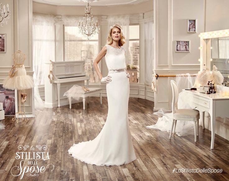 Episodio 3 - Aleandra, amore e purezza! Wedding chiffon Nicole dress 2016 collection. http://it.dplay.com/la-stilista-delle-spose-2/stagione-1-episodio-3/ #Nicole #collection #nicolespose #alessandrarinaudo #wedding #chiffon #abitidasposa #bianco #white #weddingdress #sposa #bride #brides #bridal #LaStilistaDelleSpose #realtime